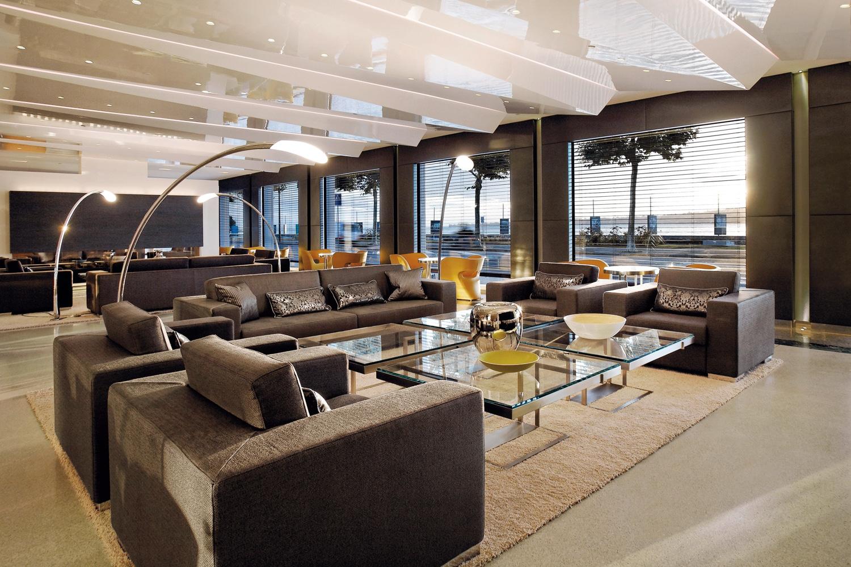 aménagement lobby Hôtel Président Wilson Genève