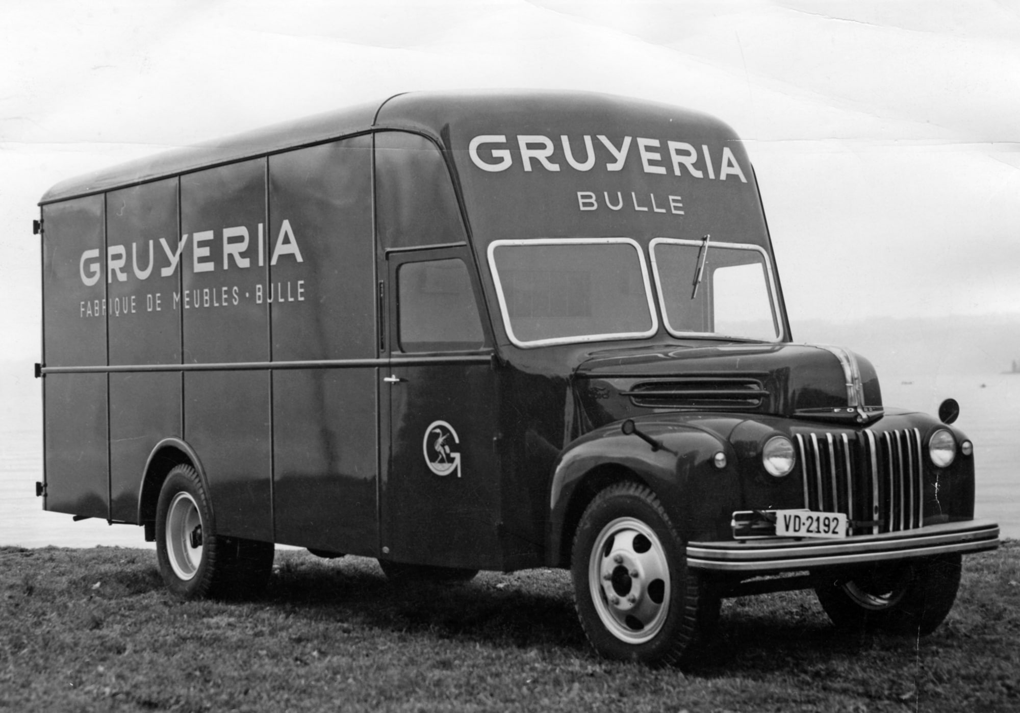 Viejo camión Gruyeria Bulle